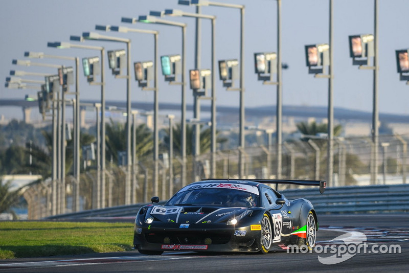 #69 Stile F Squadra Corse Ferrari 458 GT3: Martin Grab, Jonathan Hui, Dirk Diggler