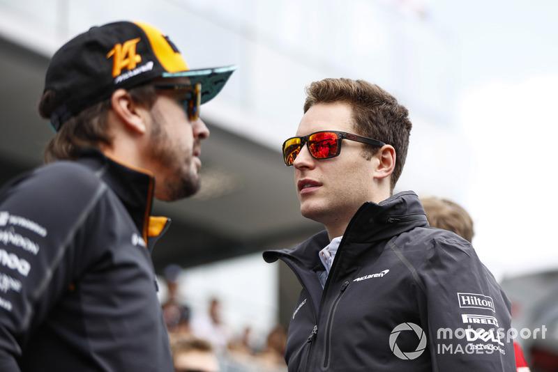 Фернандо Алонсо, McLaren, та Стоффель Вандорн, McLaren