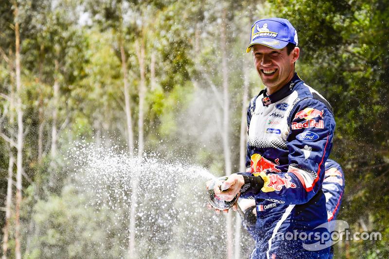 2018 WRC şampiyonu Sébastien Ogier, M-Sport Ford