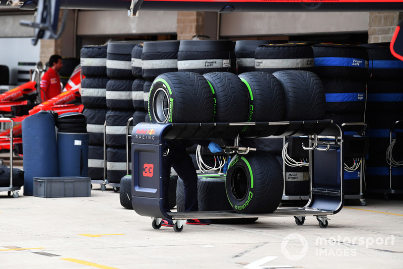 Les pneus Pirelli de Red Bull Racing