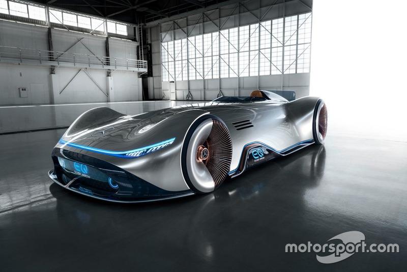 Präsentation: Mercedes EQ Silver Arrow