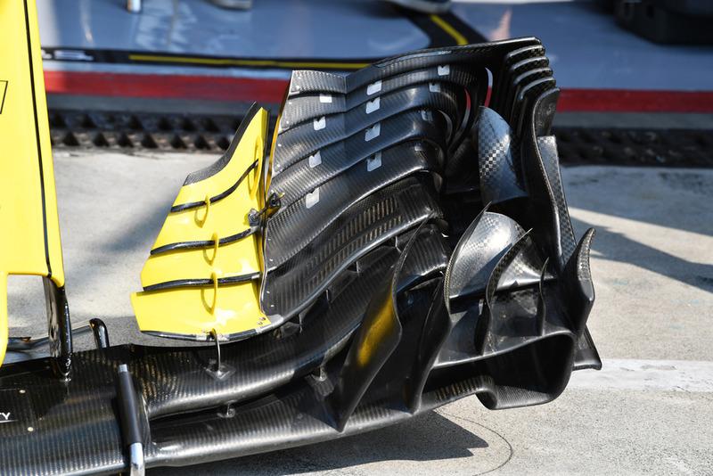 Переднє антикрило Renault Sport F1 Team RS 18