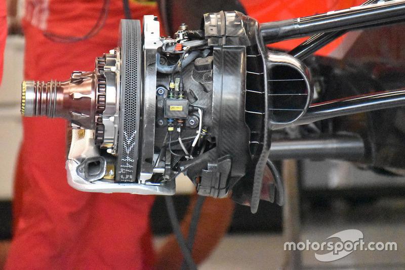 Ferrari, első fékrendszer