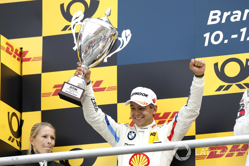 Podium: Augusto Farfus, BMW Team RMG, finis kedua