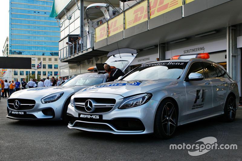 Автомобіль безпеки FIA та медичний автомобіль FIA