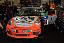 #54 raceunion Teichmann Racing, Porsche 911 GT3 Cup: Airgee, Alex Autumn, Milan Kodidek, Andrea Perl