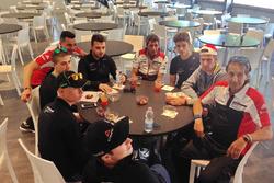 La colazione dei piloti della Carrera Cup Italia