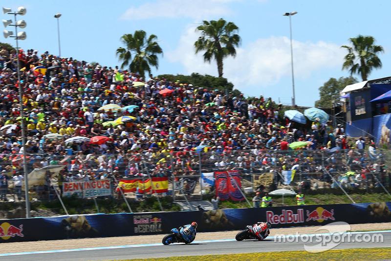 Scott Redding, Pramac Racing und Tito Rabat, Marc VDS Racing Honda