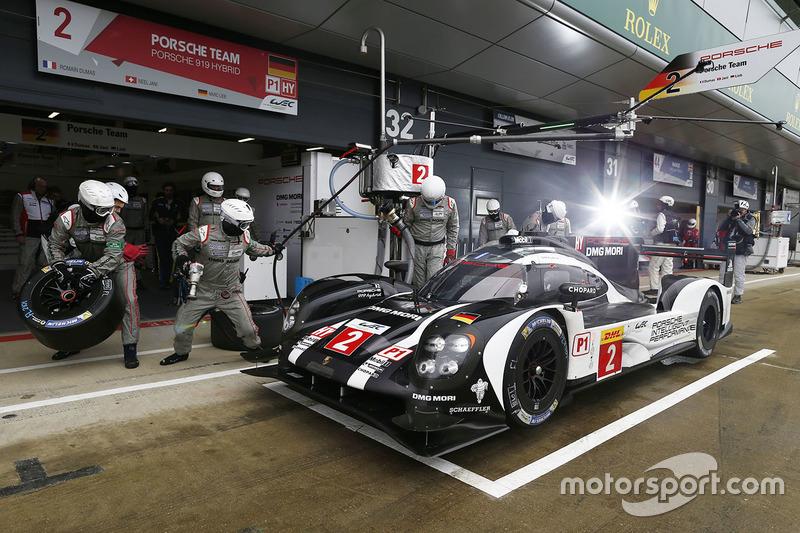 5. #2 Porsche Team Porsche 919 Hybrid: Romain Dumas, Neel Jani, Marc Lieb