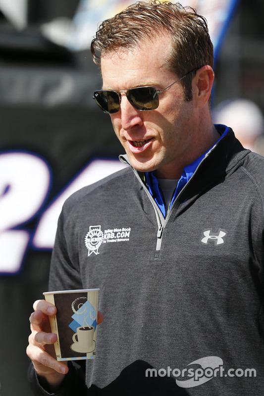 Alan Gustafson, crew chief voor Chase Elliott
