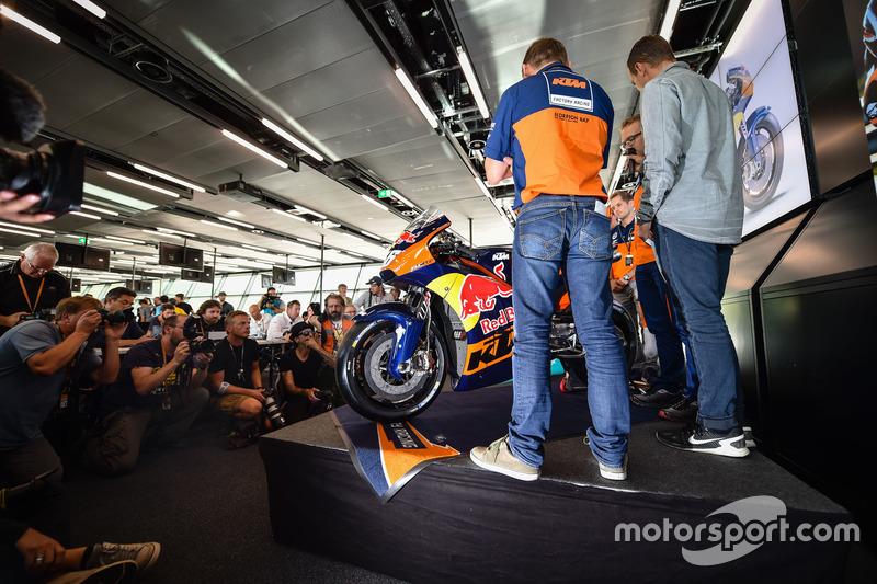 La moto KTM MotoGP