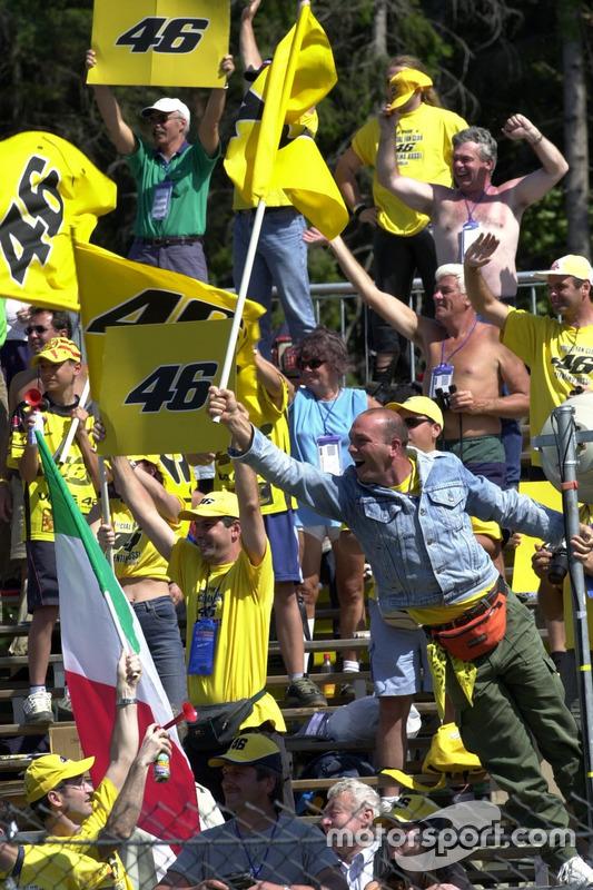 Des fans de Valentino Rossi, Repsol Honda Team