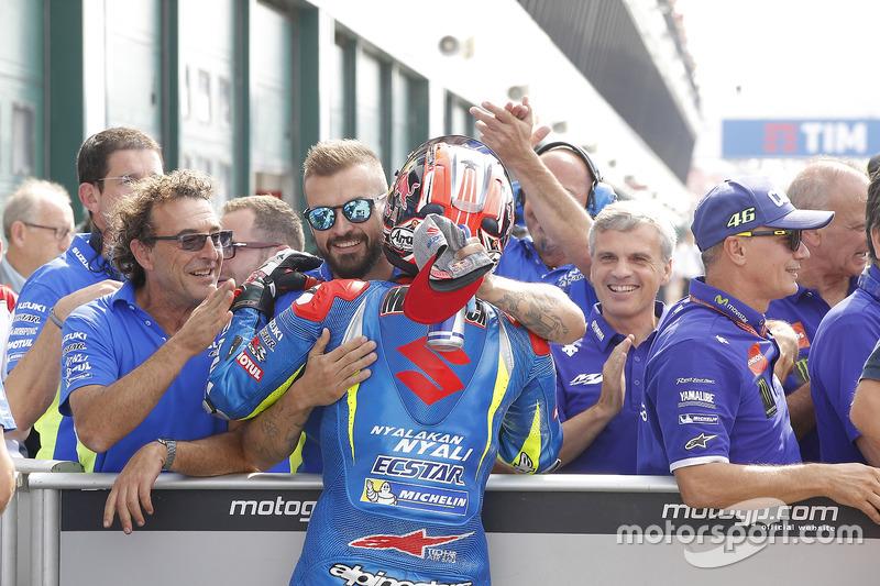 Third place Maverick Viñales, Team Suzuki Ecstar MotoGP