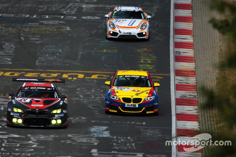 BMW M6 GT3 von Frikadelli Racing