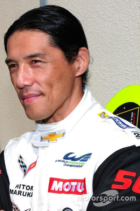 #50 Larbre Competition Corvette C7.R: Yutaka Yamagishi