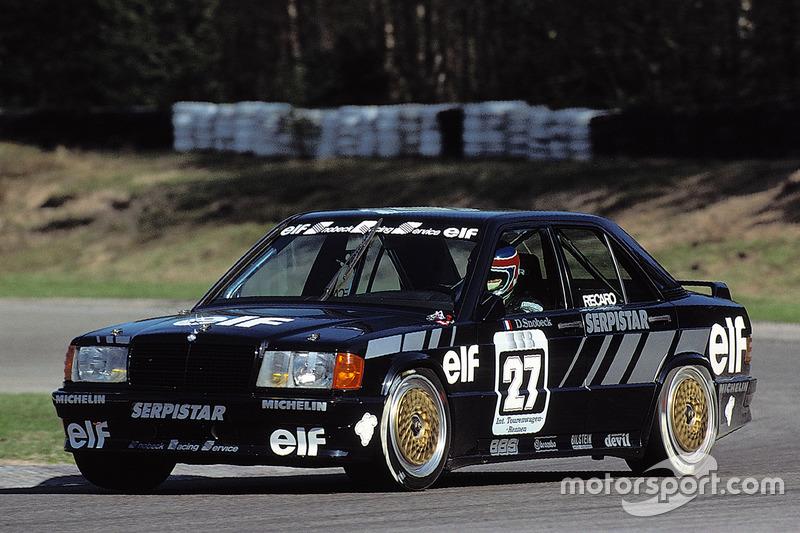 1988: Dany Snobeck, Snobeck Racing Service, Mercedes-Benz 190 E