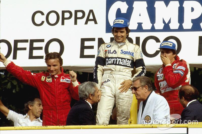 Nelson Piquet (1981, 1983, 1987)