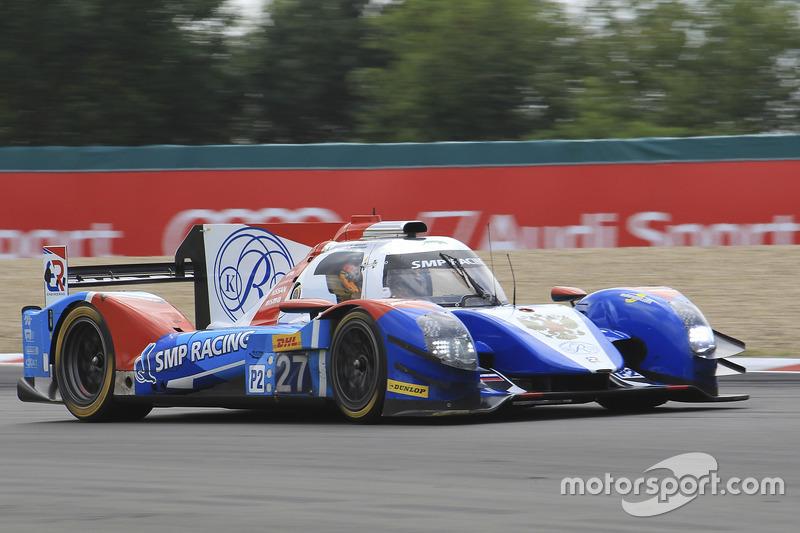 #27 SMP Racing BR01 - Nissan: Maurizio Mediani, Nicolas Minassian, David Markozovn
