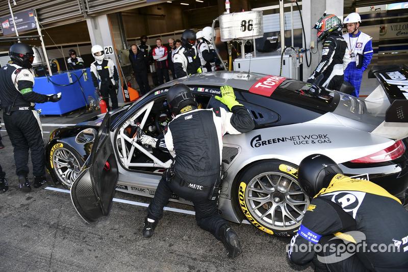 #88 Proton Competition, Porsche 911 RSR: Gianluca Roda, Christian Ried, Matteo Cairoli