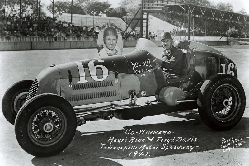 1941: Floyd Davis und Mauri Rose