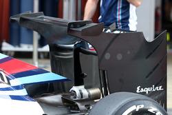Williams FW38, nueva ala trasera