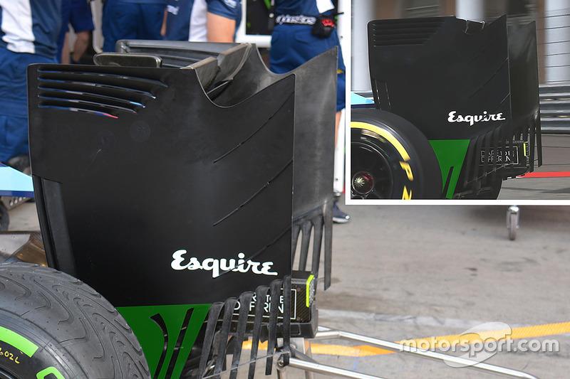 Williams FW38: Heckflügel