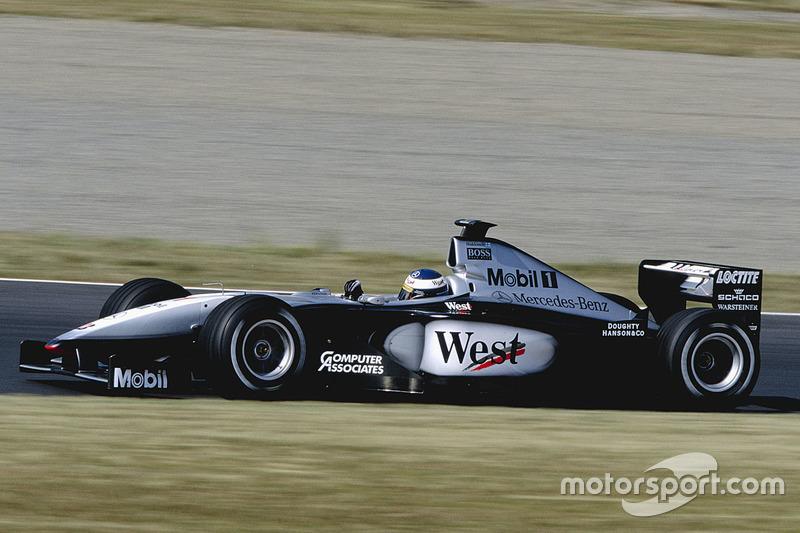 1999: Mika Hakkinen, McLaren-Mercedes