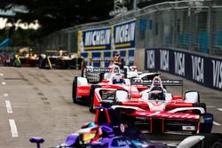Nick Heidfeld, Mahindra Racing y Felix Rosenqvist, Mahindra Racing