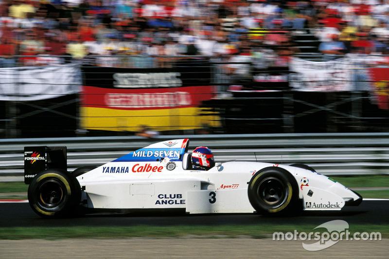 Ukyo Katayama, Tyrrell, Yamaha 022