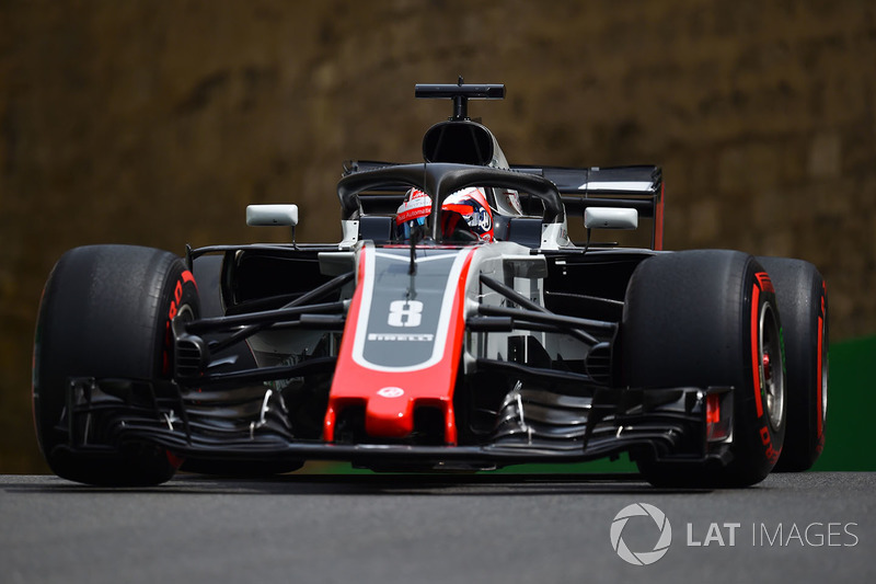 20. Romain Grosjean, Haas F1 Team VF-18