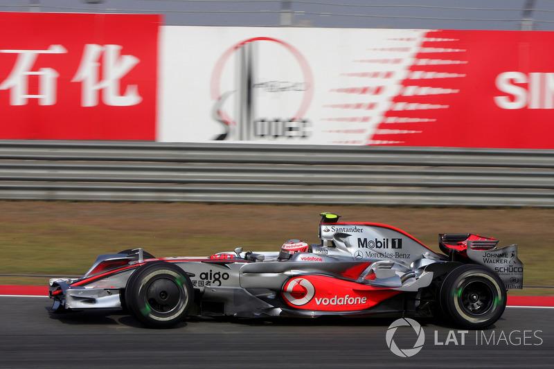 2008: McLaren MP4-23 Mercedes