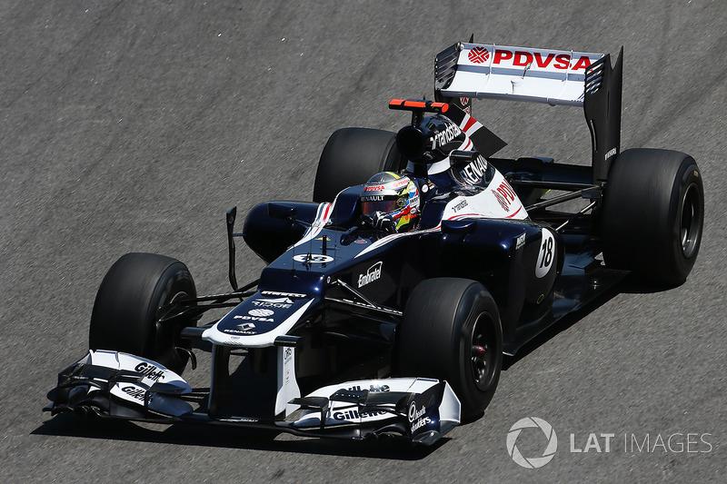 2012: Williams FW34 Renault (1 победа, 8-е место в КК)