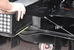 Mercedes-AMG F1 W09, dettaglio del diffusore