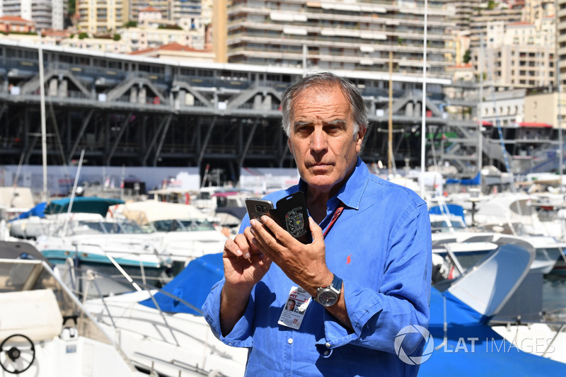 Giorgio Piola, journaliste spécialiste de la technique