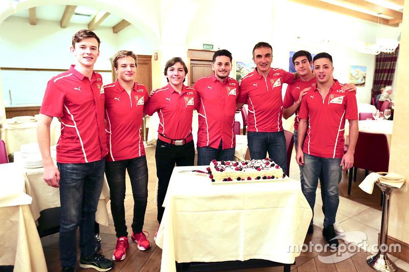 Тренування Гоночної Академії Ferrari