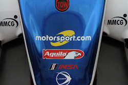 Motorsport.com logo on the #32 United Autosports Ligier LMP2: Will Owen, Hugo de Sadeleer, Paul Di Resta, Bruno Senna