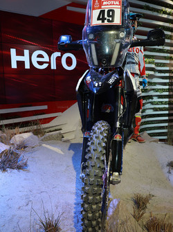 Hero MotoSports Team Rally: Moto de CS Santosh