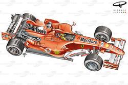 Ferrari F248 F1 - 3/4 view