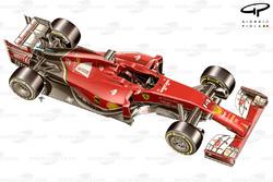Ferrari F14 T 3/4 side view