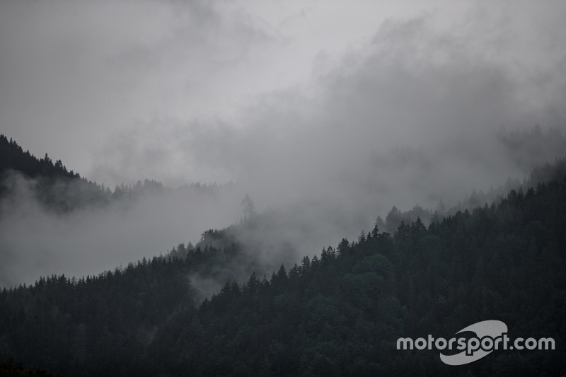 Clouds over Red Bull Ring at Spielberg