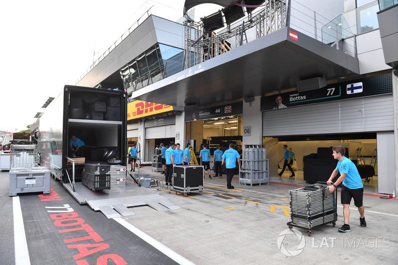 Casse Mercedes AMG F1