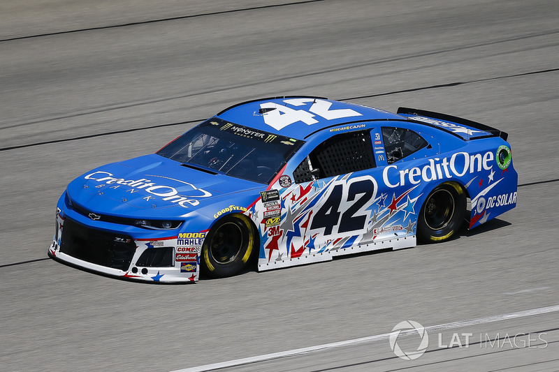 18. Kyle Larson, Chip Ganassi Racing, Chevrolet Camaro Credit One Bank