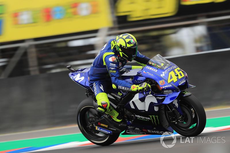19. Valentino Rossi, Yamaha Factory Racing