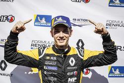 il vincitore della gara, Christian Lundgaard, MP motorsport