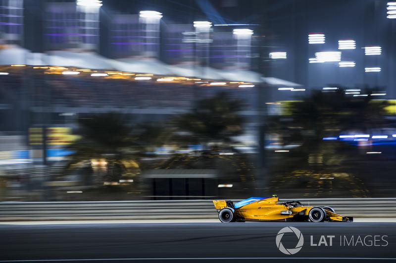 8e : Stoffel Vandoorne (McLaren)