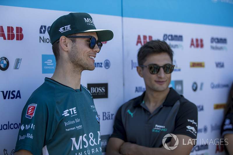 Tom Blomqvist, Andretti Formula E Team, Mitch Evans, Jaguar Racing
