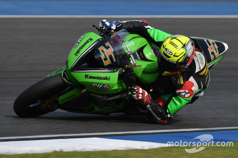 SS600: Azlan Shah, Manual Tech KYT Kawasaki Racing