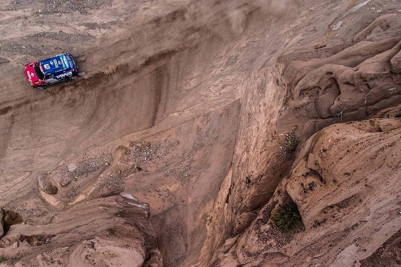 Якуб Пшигоньский и Том Колсул, X-Raid Team, MINI John Cooper Works Rally