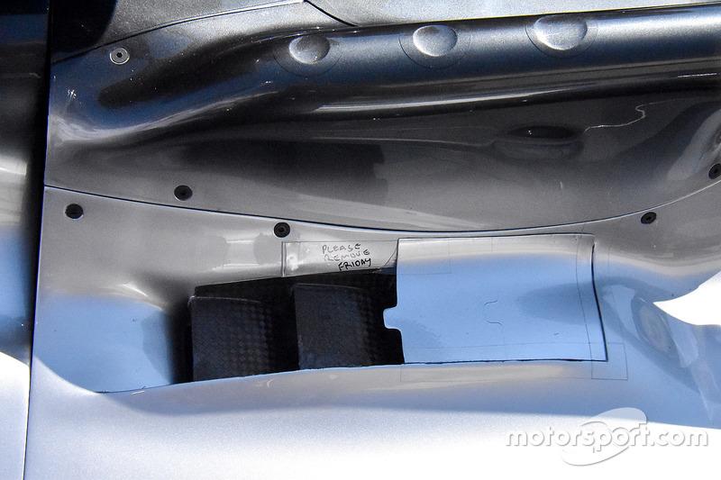 Mercedes AMG F1 W09 в деталях