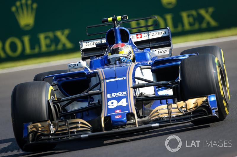 13º Pascal Wehrlein, Sauber C36